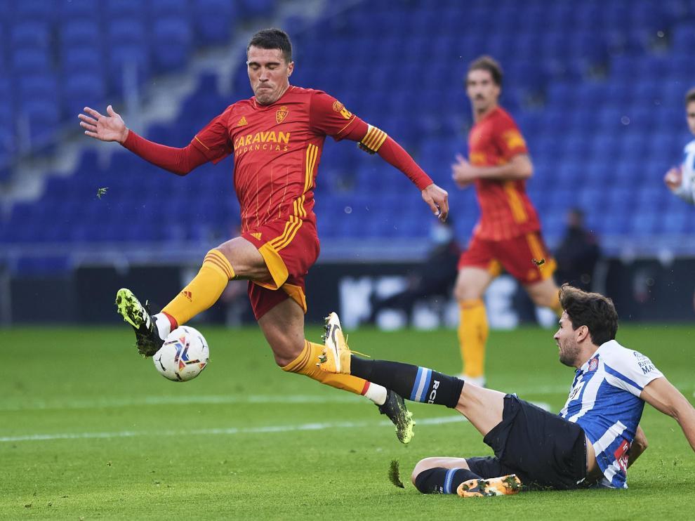 Partido Espanyol - Real Zaragoza en imágenes