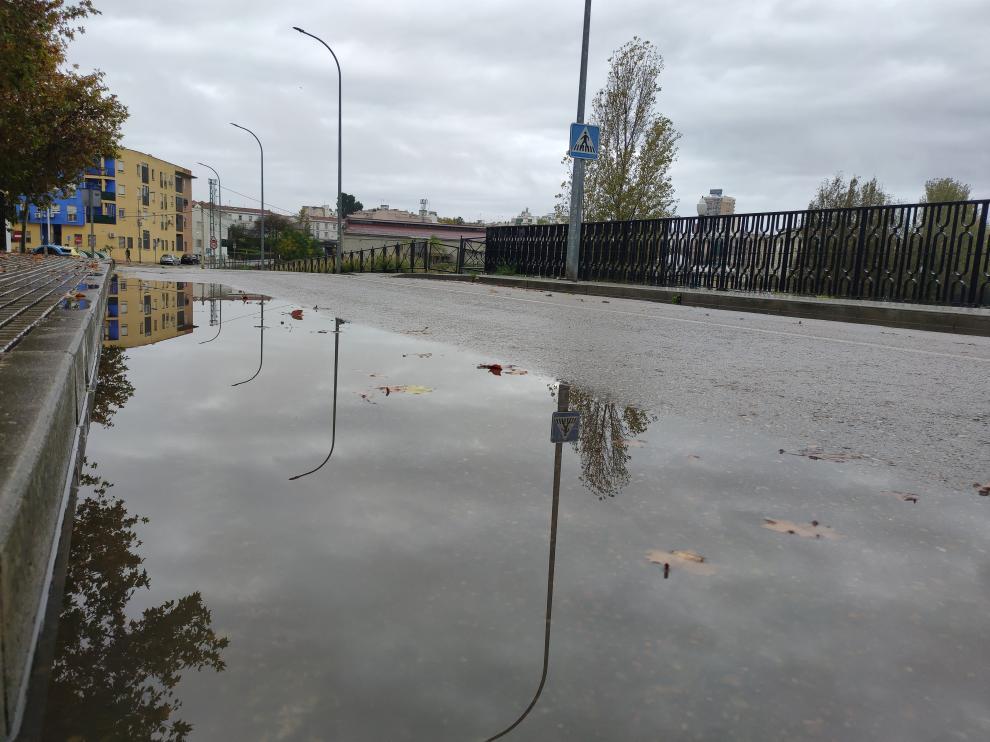 Clement ya está dejando lluvias a su paso por Extemadura.