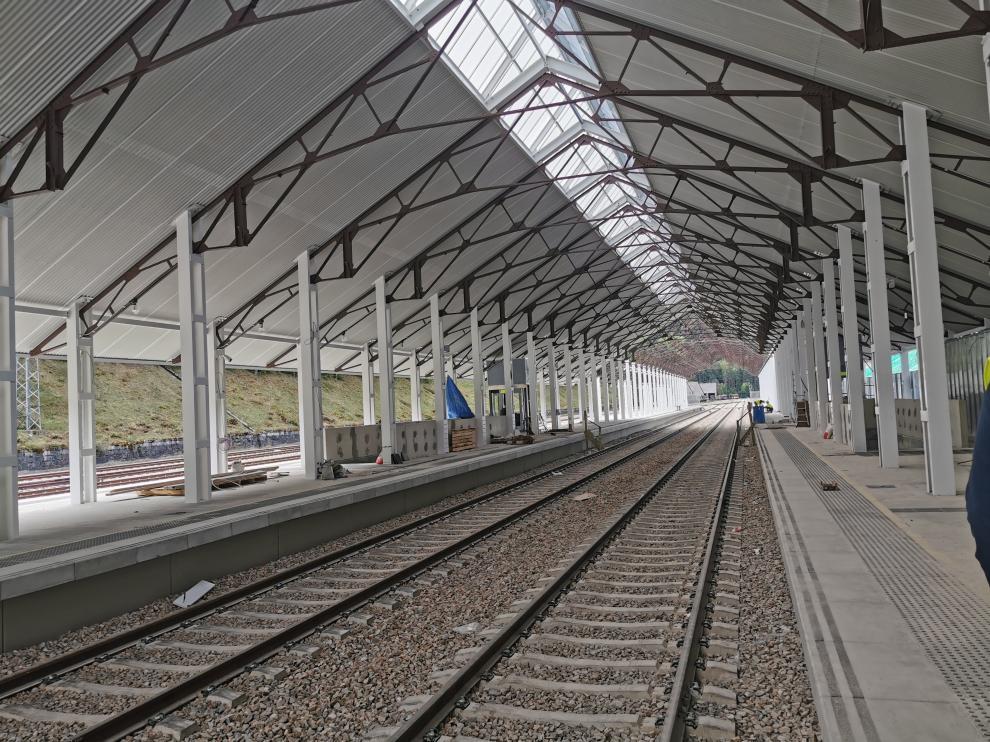 Nueva terminal de la estación Internacional de Canfranc.