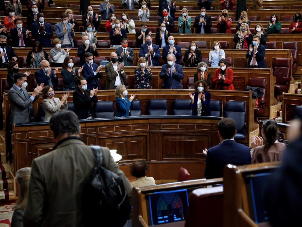 El Congreso aprueba los Presupuestos Generales 2021