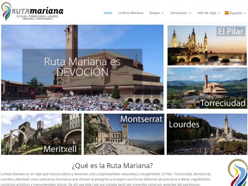 La Fundación Caja Rural de Aragón se une al proyecto de la 'Ruta Mariana' y colabora en su promoción internacional.