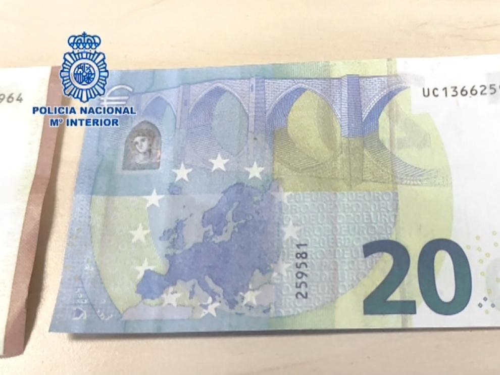 Estos son los consejos de la Policía Nacional para detectar un billete falso