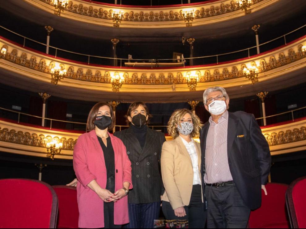 Presentación del espectáculo de Nacho del Río y Beatriz Bernad