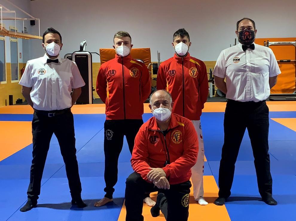 Representación aragonesa en el Campeontao de España de Kickboxing