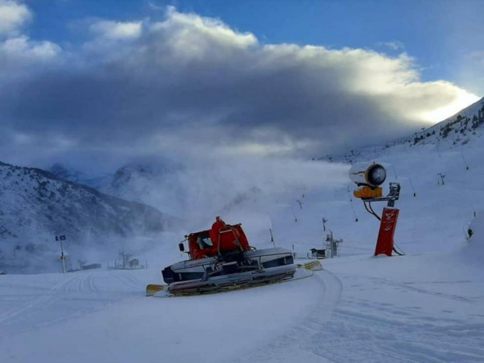 Estación de esquí de Candanchú.