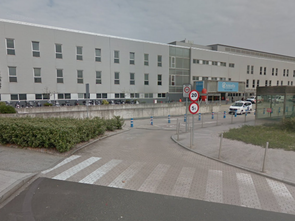 Imagen del exterior del Hospital Universitario Marqués de Valdecilla, en Santander