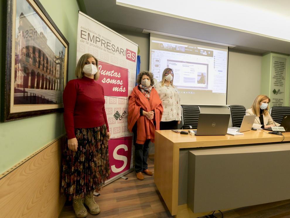 La jornada virtual organizada por Amephu se retransmitió desde el salón de actos de la CEOS.