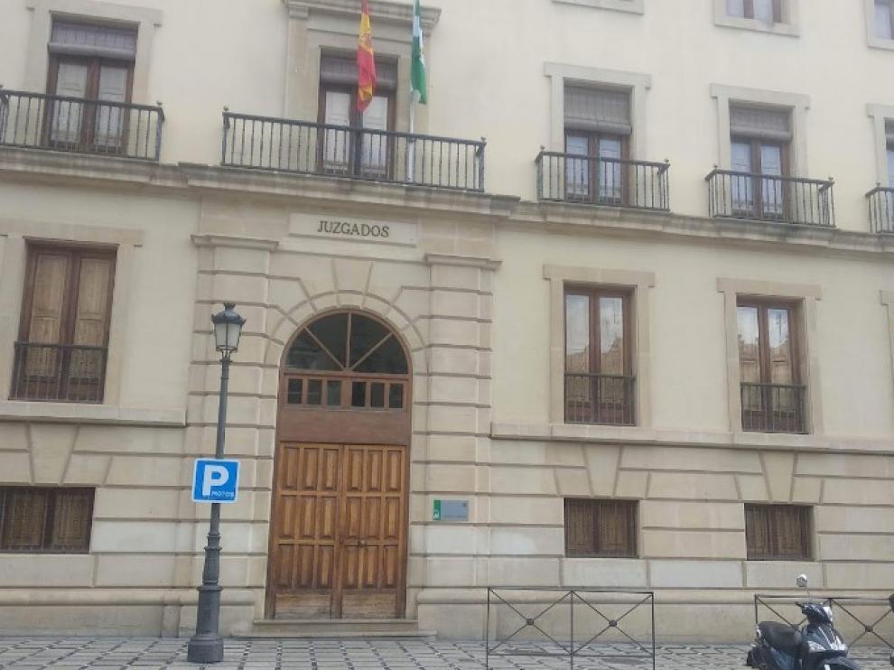 Imagen de archivo de la Audiencia de Granada.