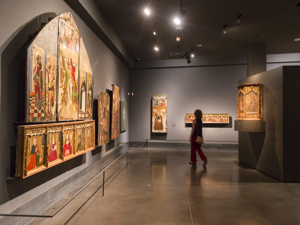 Piezas de procedencia aragonesa en el Museo de Lérida.