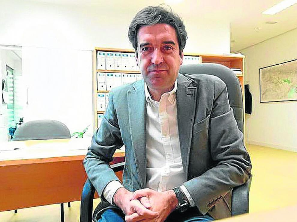 Javier García Ramos, director de la Escuela Politécnica Superior de Huesca.