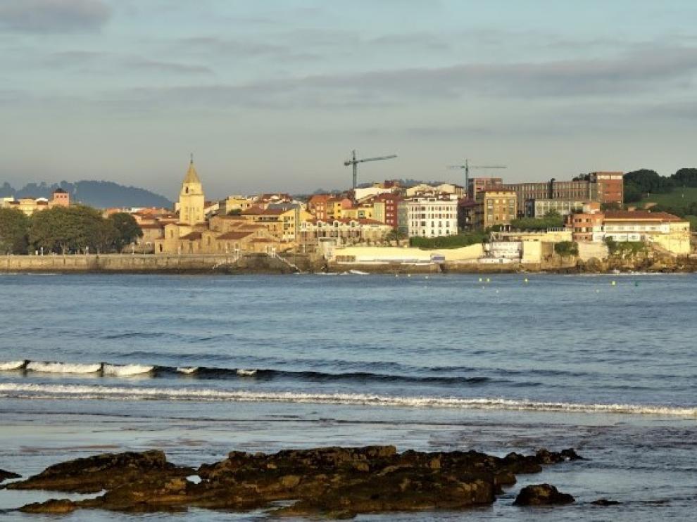 Imagen de archivo de la ciudad de Gijón.