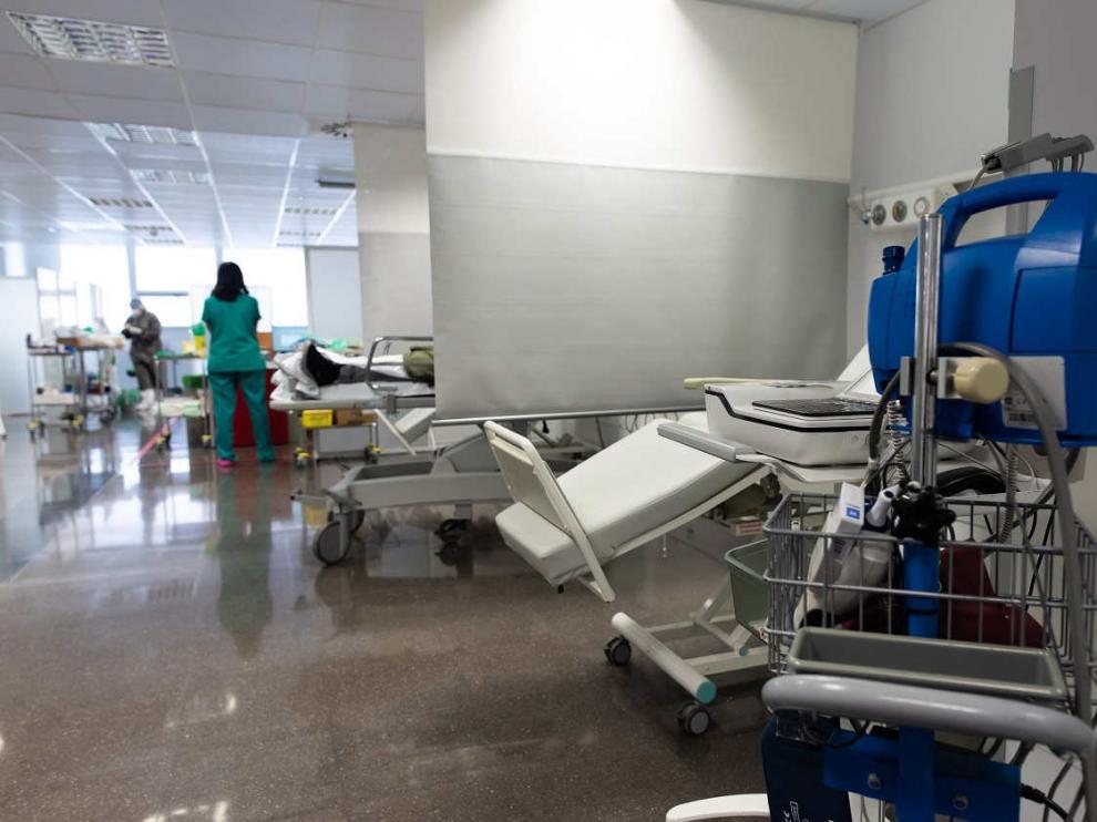 Urgencias del Hospital Miguel Servet de Zaragoza.