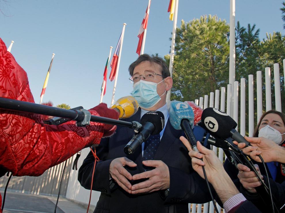 El presidente de la Comunidad Valenciana, Ximo Puig