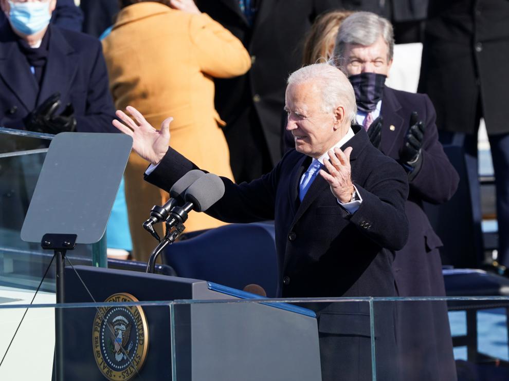 Toma de posesión de Joe Biden como presidente de Estados Unidos