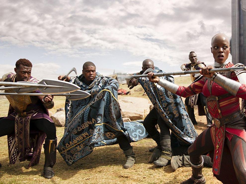 Fotograma de la película 'Black Panther' (Ryan Coogle, 2018).