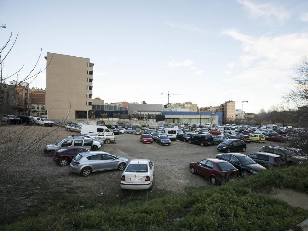 Terrenos de la antigua fábrica de Alumalsa, en San José, que contemplan 106 viviendas