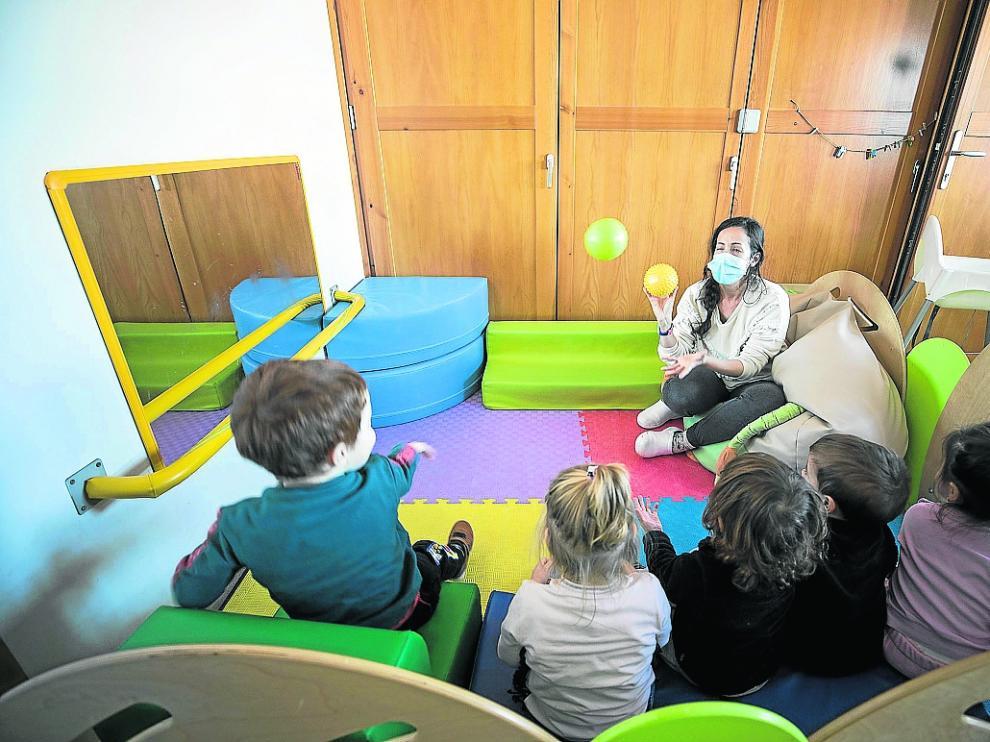 La escuela infantil local cree en el juego como herramienta pedagógica