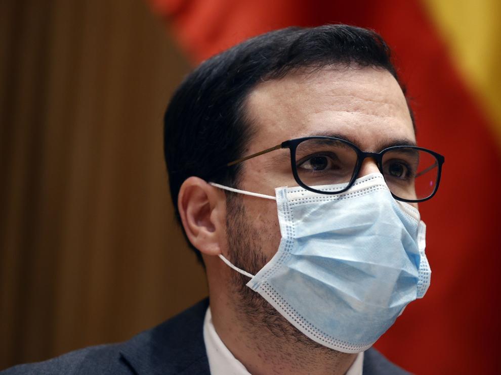 El ministro Garzón comparece ante la Comisión de Sanidad y Consumo del Congreso