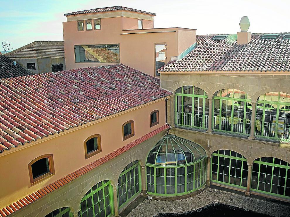 El hotel es una casa señorial, de unos 1.400 metros cuadrados, de principios del XVII.