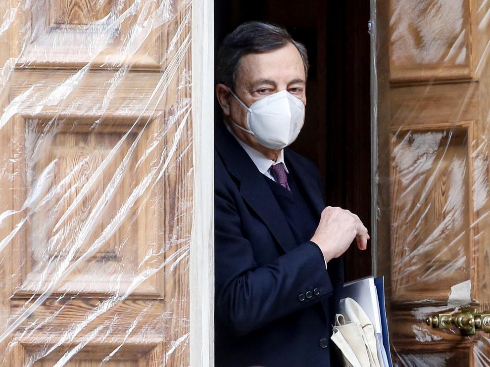 Mario Draghi posible alternativa a Conte.