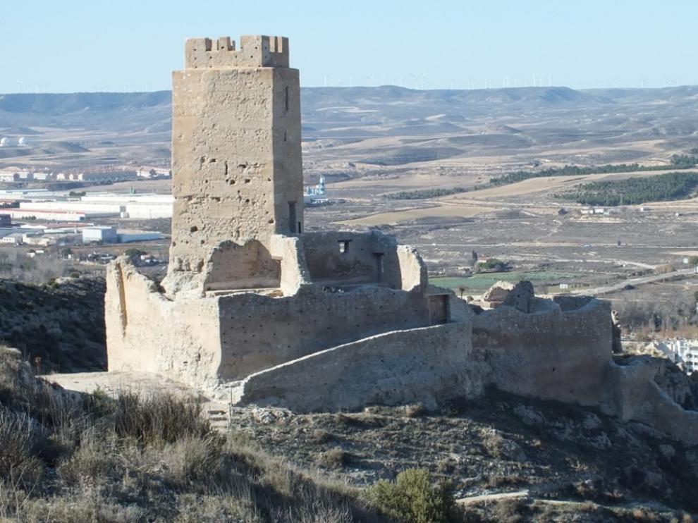 El castillo de Cadrete fue mandado edificar por Abderramán III en el año 935