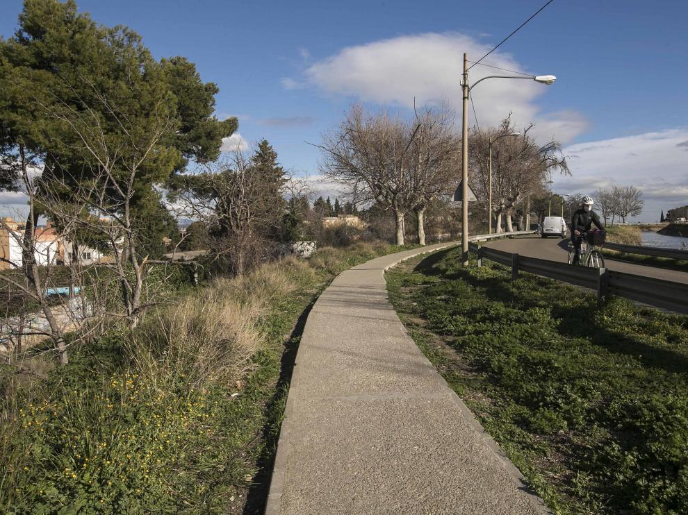 El tramo del Canal a la altura del barrio de San José sigue a la espera de obras de mejora.