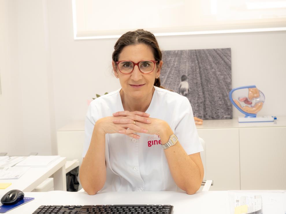 La doctora Cristina Torrijo, de la Unidad de Ginecología del hospital Hernán Cortés.
