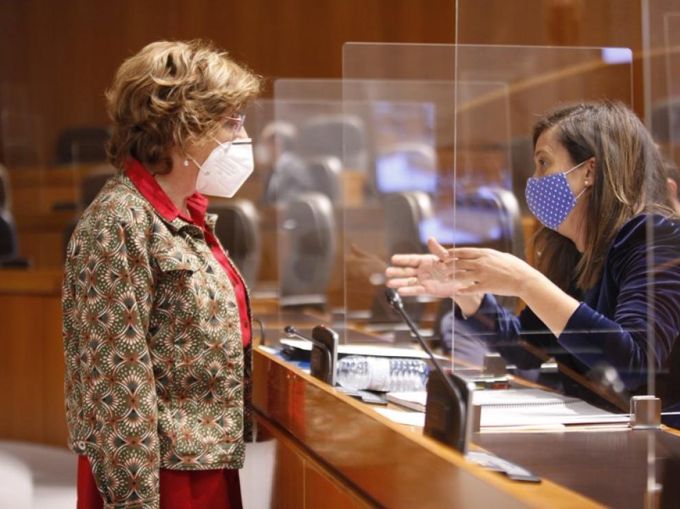 Mariví Broto compareció en las Cortes este miércoles a petición del PP
