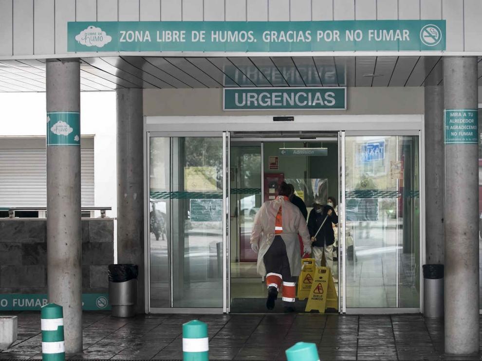 Urgencias del Hospital Miguel Servet de Zaragoza