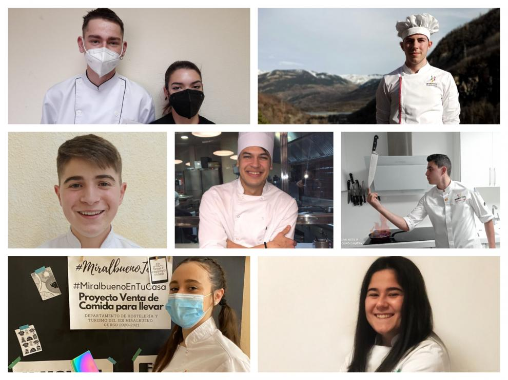 Un concurso reúne a las jóvenes promesas de la cocina aragonesa