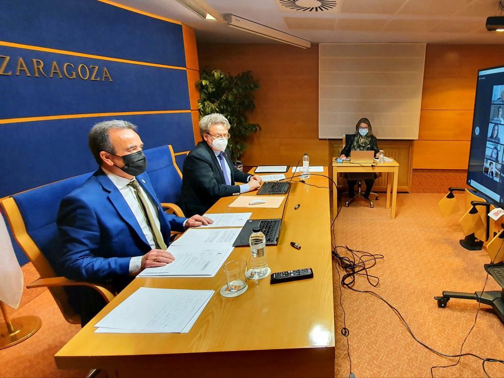 Pleno de la Diputación de Zaragoza