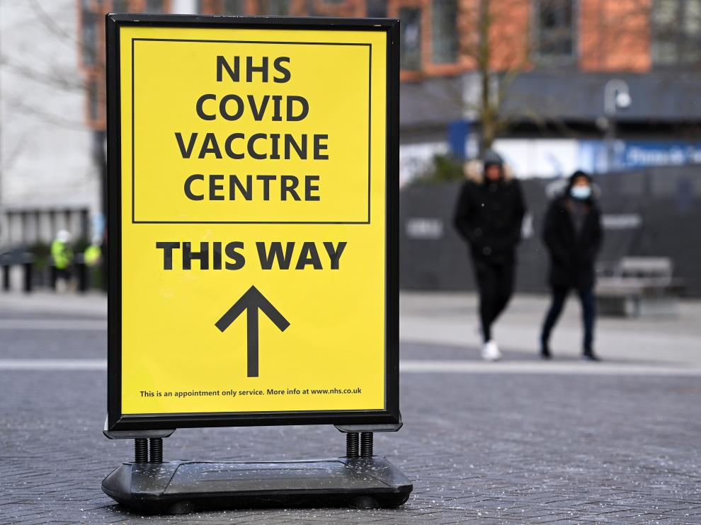 Twelve million people in UK now received first dose of Covid vaccine