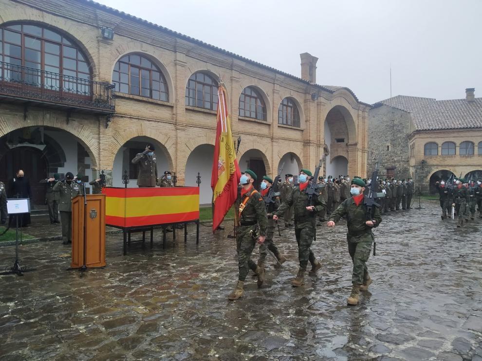 Despedida del Regimiento Galicia 64.