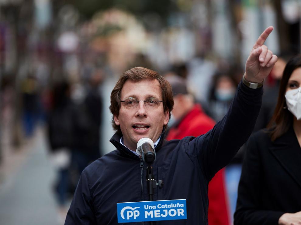 El alcalde de Madrid y portavoz nacional del PP, José Luis Martínez-Almeida.