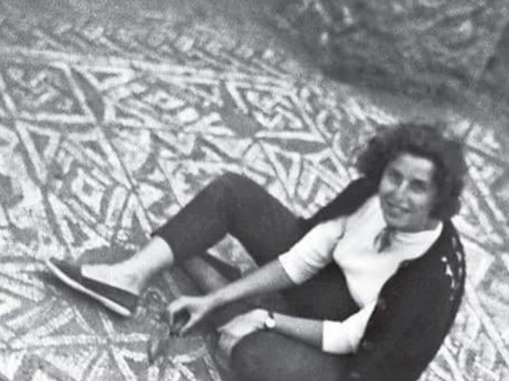 Purificación Atrián, en una imagen de archivo.