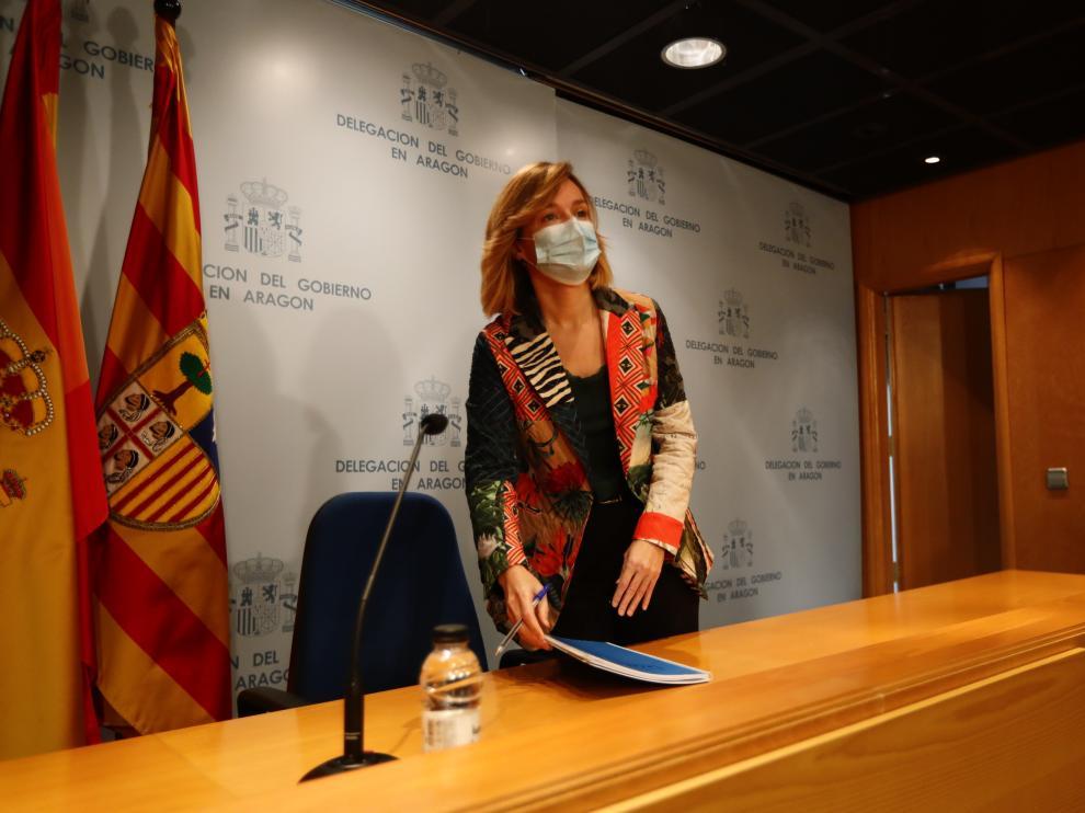 Rueda de prensa de Pilar Alegría