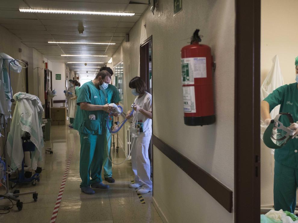 Servicio de Neumología del Hospital Universitario Miguel Servet de Zaragoza