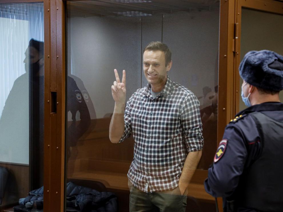 Batalla legal de Navalni