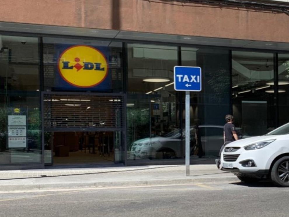 Tienda Lidl en Zaragoza.