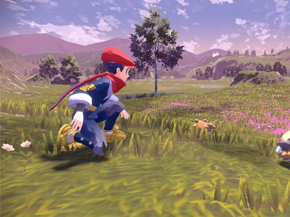 Imagen del nuevo videojuego de 'Leyendas Pokémon: Arceus'.