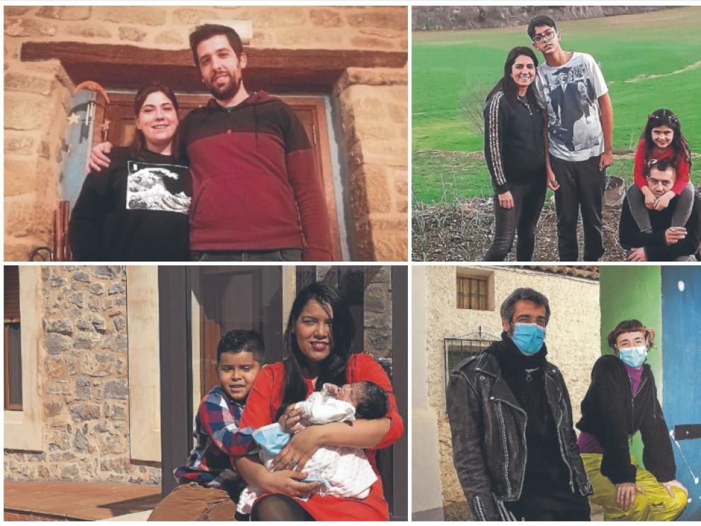 Nuevas familias se mudan al mundo rural en plena pandemia.