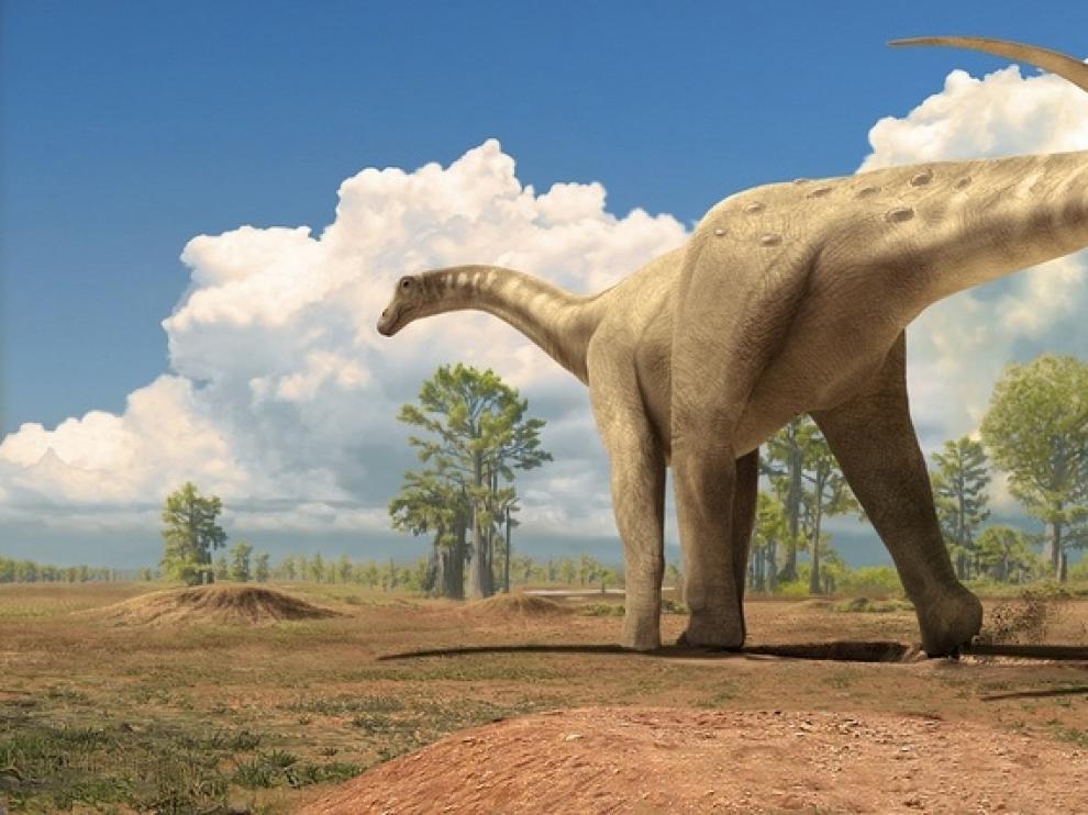 Descubren en la Patagonia el titanosaurio más antiguo del mundo.