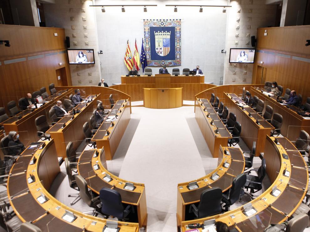 Comisión de Agricultura, Ganadería y Medio Ambiente en las Cortes de Aragón
