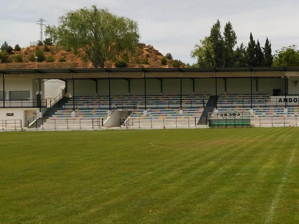 El estadio Juan Antonio Endeiza de Andorra no albergará fútbol esta temporada.