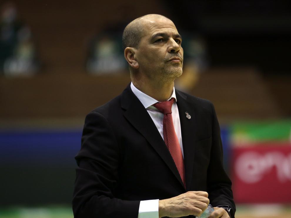 Sergio Hernández, entrenador del Casademont Zaragoza.