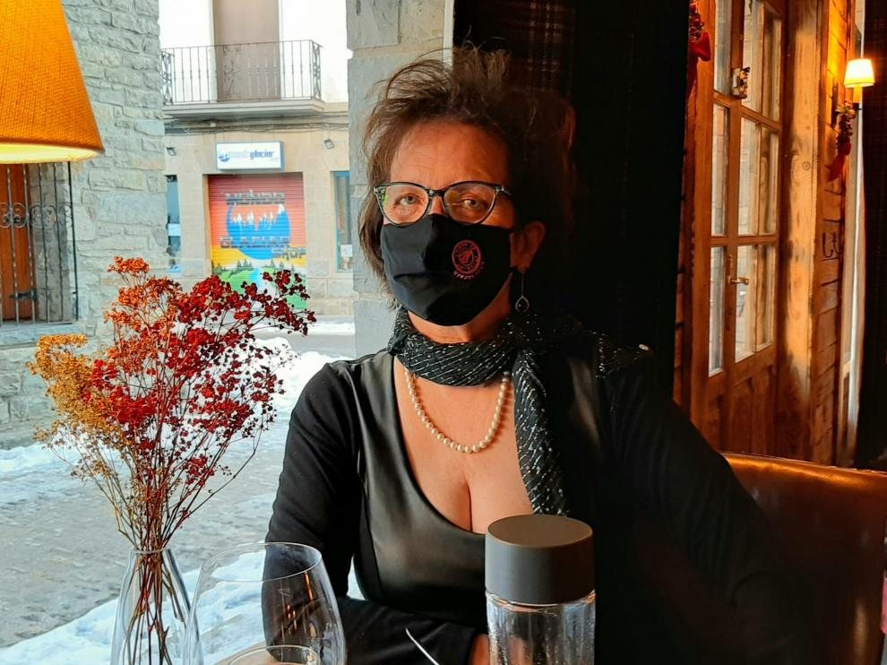 La aragonesa Dolores Lasaosa, de 61 años, forma parte de la Asociación estatal de cáncer de mama metastásico.
