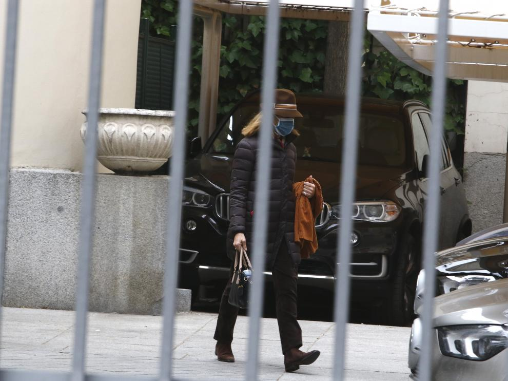 La infanta Elena este miércoles en Madrid