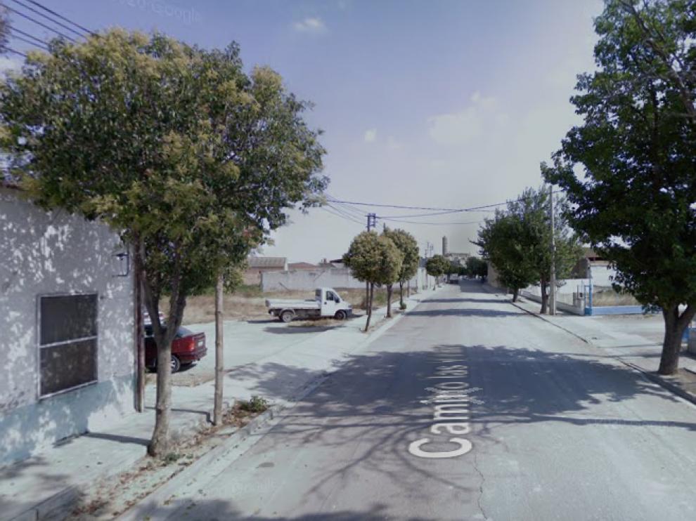 Calle donde se encontró al animal muerto