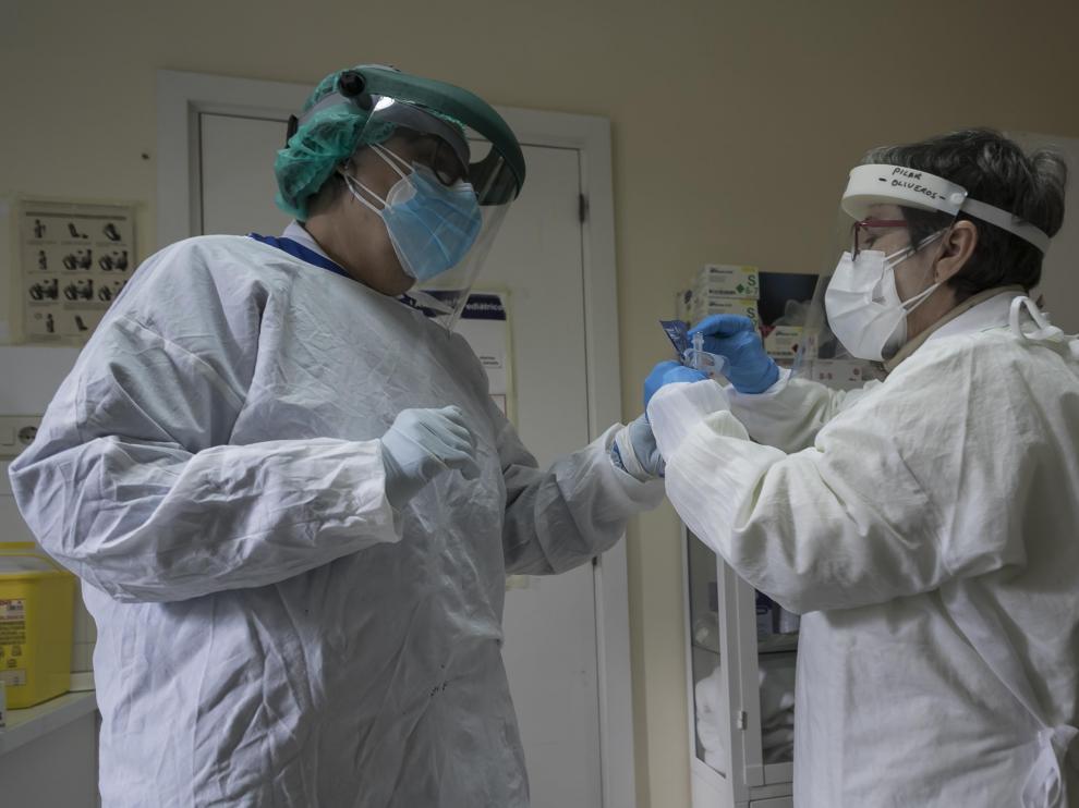 El centro de salud Delicias Sur atiende de forma presencial a unas 800 personas al día.