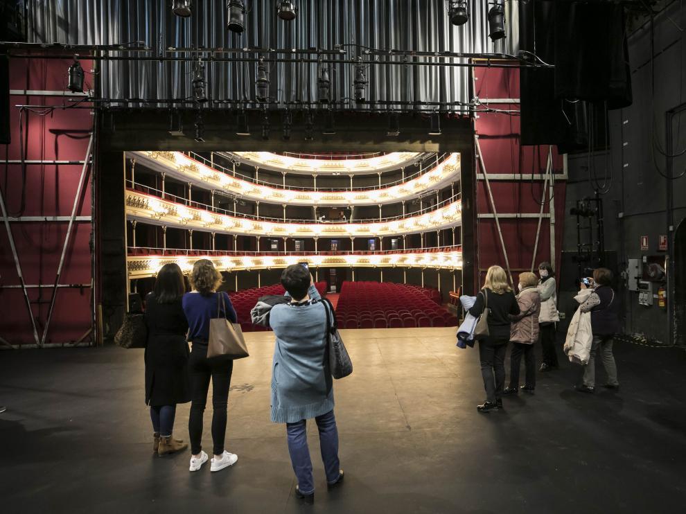 Visitas guiadas al Teatro Principal de Zaragoza